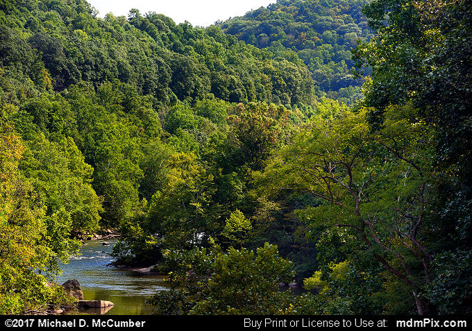YR Trail Ohiopyle to Connellsville Vista (YR Trail Ohiopyle to Connellsville Vista Picture 004 - September 10, 2017 from Ohiopyle State Park, Pennsylvania)