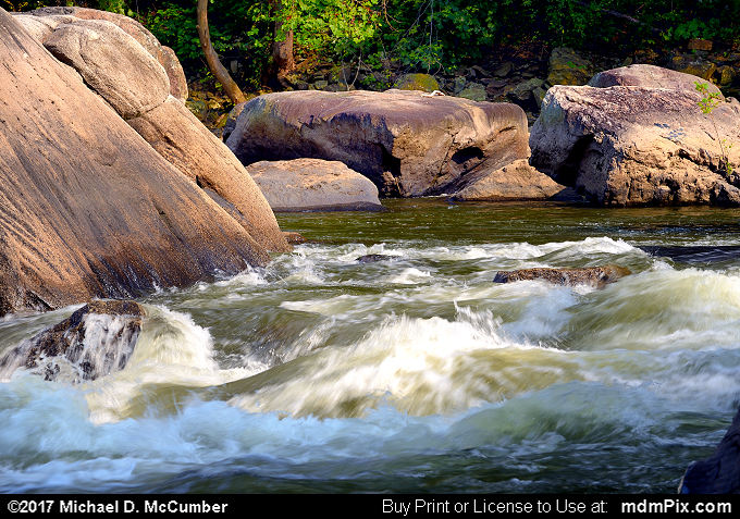 Wall and Snaggletooth Rapid (Wall and Snaggletooth Rapid Picture 014 - September 10, 2017 from Ohiopyle State Park, Pennsylvania)