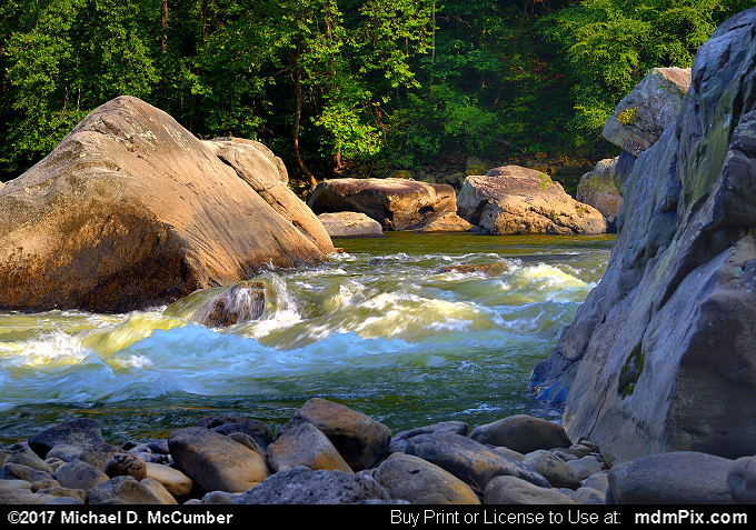 Wall and Snaggletooth Rapid (Wall and Snaggletooth Rapid Picture 015 - September 10, 2017 from Ohiopyle State Park, Pennsylvania)