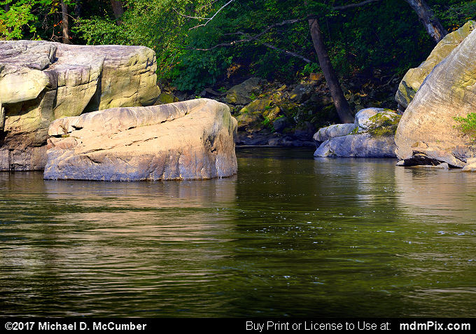 Youghiogheny River (Youghiogheny River Picture 024 - September 10, 2017 from Ohiopyle State Park, Pennsylvania)