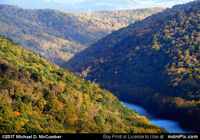 Youghiogheny Gorge (Youghiogheny Gorge Picture 005 - October 13, 2017 from PA State Game Land 51)