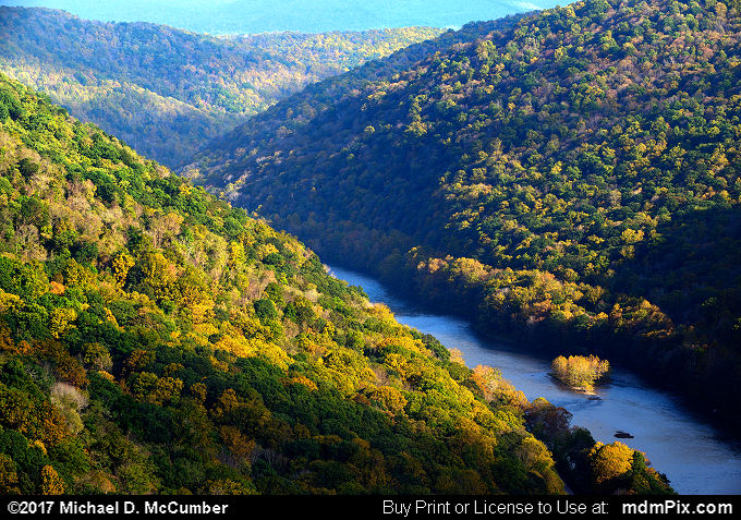 Youghiogheny Gorge (Youghiogheny Gorge Picture 009 - October 13, 2017 from PA State Game Land 51)