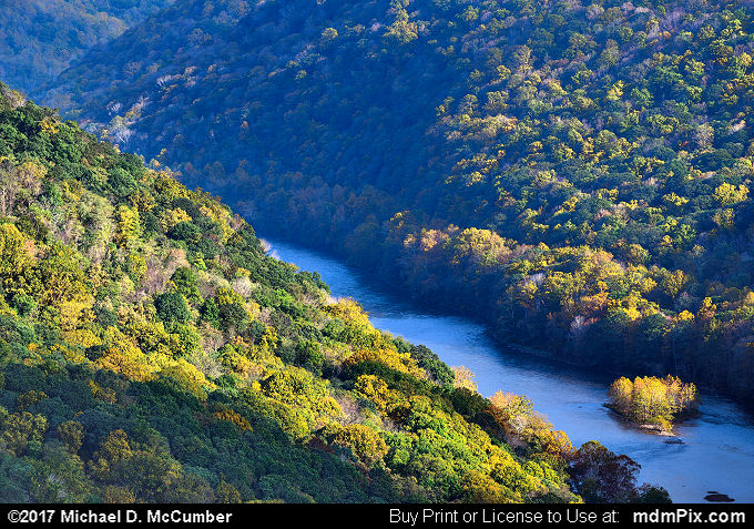 Youghiogheny Gorge (Youghiogheny Gorge Picture 010 - October 13, 2017 from PA State Game Land 51)
