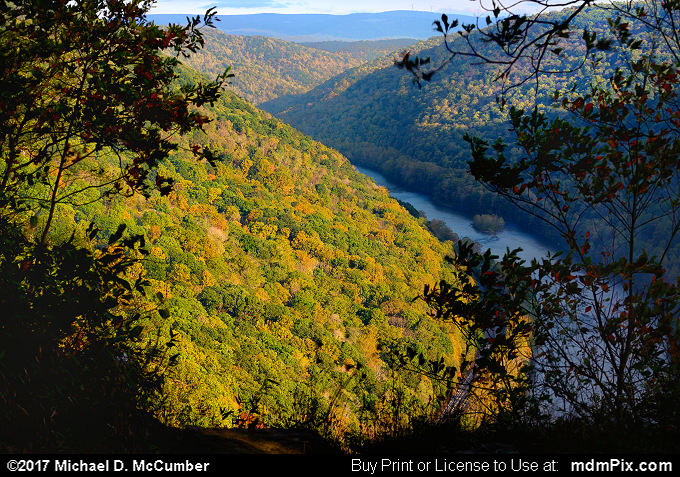 Casparis Lookout Point (Casparis Lookout Point Picture 015 - October 13, 2017 from PA State Game Land 51)