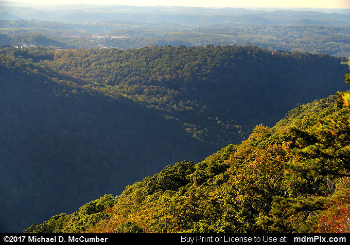 Chestnut Ridge (Chestnut Ridge Picture 050 - October 14, 2017 from Coopers Rock State Forest, West Virginia)