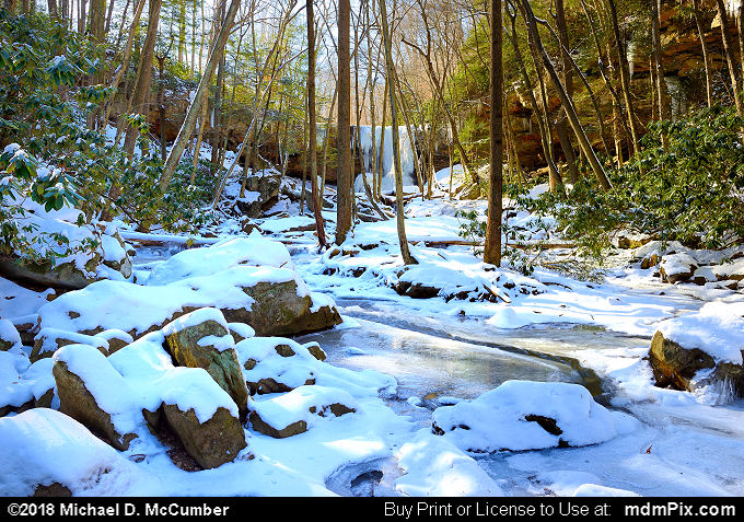 Cucumber Run (Cucumber Run Picture 023 - January 19, 2018 from Ohiopyle State Park, Pennsylvania)