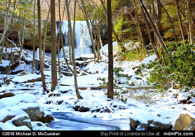 Cucumber Run (Cucumber Run Picture 029 - January 19, 2018 from Ohiopyle State Park, Pennsylvania)