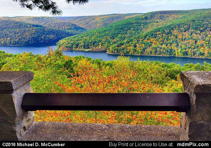 Rimrock Overlook (Rimrock Overlook Picture 019 - October 10, 2018 from Bradford, Pennsylvania)