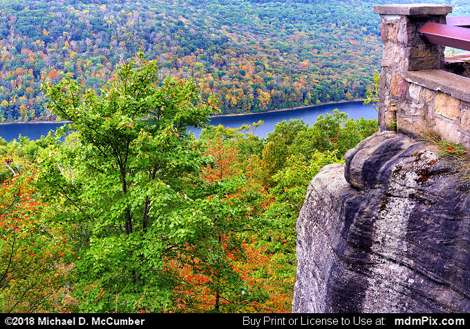 Rimrock Overlook (Rimrock Overlook Picture 028 - October 10, 2018 from Bradford, Pennsylvania)